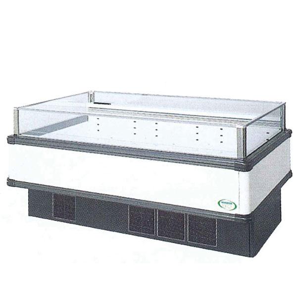 新品 福島工業(フクシマ)インバーター制御アイランドショーケース冷凍・冷蔵切替ワイドレンジタイプ幅1671+(64.5×2)×奥行900×高さ850(mm)IMC-65PWFTAX