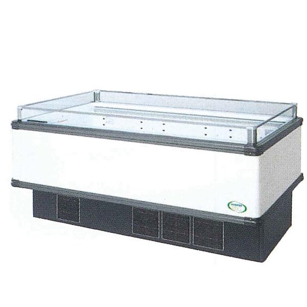新品 福島工業(フクシマ)インバーター制御アイランドショーケース冷凍・冷蔵切替ワイドレンジタイプ幅1671+(64.5×2)×奥行1100×高さ850(mm)IMX-65PGFTAX