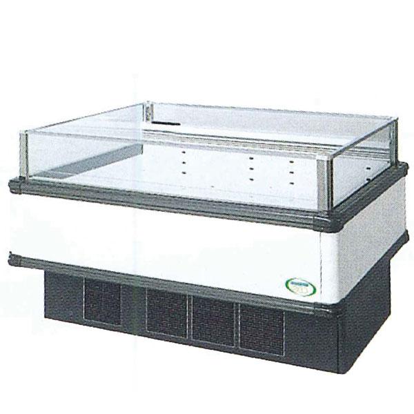 新品 福島工業(フクシマ)インバーター制御アイランドショーケース冷凍・冷蔵切替ワイドレンジタイプ幅1371+(64.5×2)×奥行1100×高さ850(mm)IMX-55PWFTAX