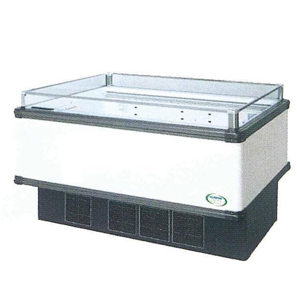新品 福島工業(フクシマ)インバーター制御アイランドショーケース冷凍・冷蔵切替ワイドレンジタイプ幅1371+(64.5×2)×奥行1100×高さ850(mm)IMX-55PGFTAX