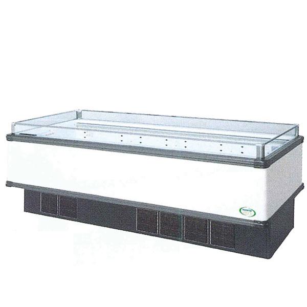新品 福島工業(フクシマ)インバーター制御アイランドショーケース冷蔵タイプ幅2271+(64.5×2)×奥行900×高さ850(mm)IMC-85RGFTAX