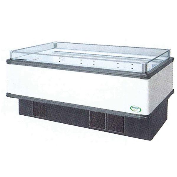 新品 福島工業(フクシマ)インバーター制御アイランドショーケース冷蔵タイプ幅1671+(64.5×2)×奥行900×高さ850(mm)IMC-65RGFTAX