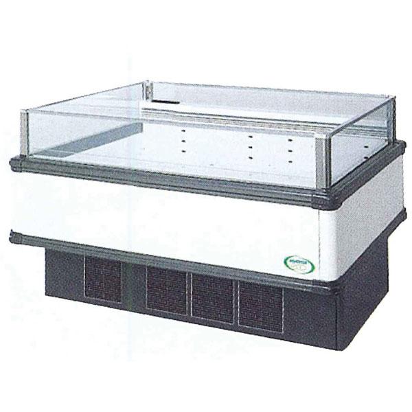 新品 福島工業(フクシマ)インバーター制御アイランドショーケース冷蔵タイプ幅1371+(64.5×2)×奥行1100×高さ850(mm)IMX-55RWFTAX