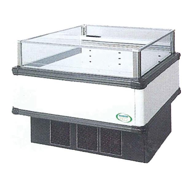 新品 福島工業(フクシマ)インバーター制御アイランドショーケース冷蔵タイプ幅1071+(64.5×2)×奥行900×高さ850(mm)IMC-45RWFTAX
