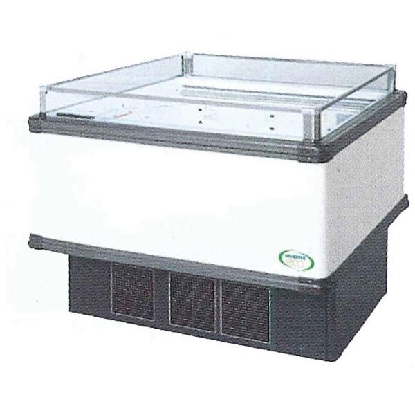 新品:福島工業(フクシマ)インバーター制御アイランドショーケース冷蔵タイプ幅1071+(64.5×2)×奥行1100×高さ850(mm)IMX-45RGFSAX