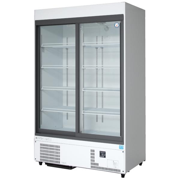 新品 福島工業(フクシマ)リーチイン冷蔵ショーケース スライド扉タイプ 810リットル幅1200×奥行650×高さ1900(mm)MSS-120GHWSR