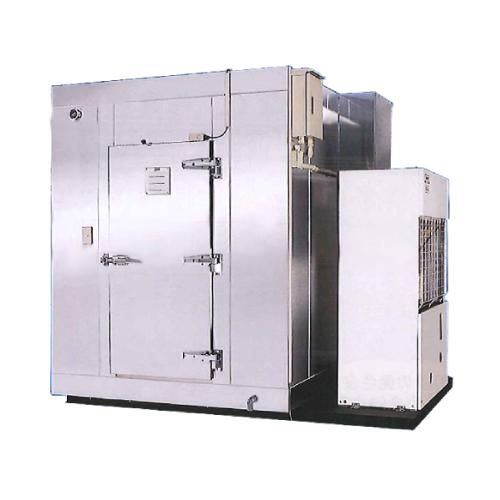 新品 ダイレイ プレハブ冷凍庫 -60℃ 1坪超低温無風冷凍機一体型タイプ【送料無料】