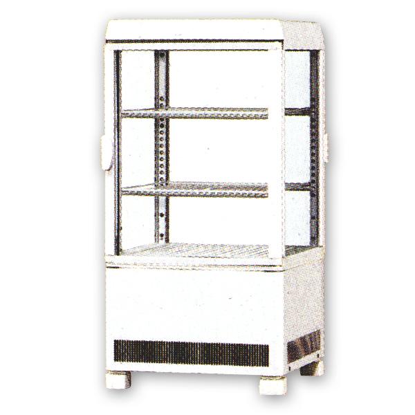 新品 サンデン卓上型冷蔵ショーケース 57リットル幅429×奥行445×高さ857(mm)AG-60XE