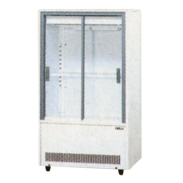 新品 サンデン冷蔵ショーケース 小型 131リットル幅633×奥行435×高さ1123(mm)VRS-68XE