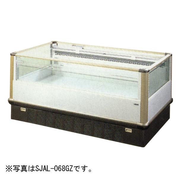 新品:サンデン 平型オープンショーケース 2400×1120×850572リットル SJAL-088GZB