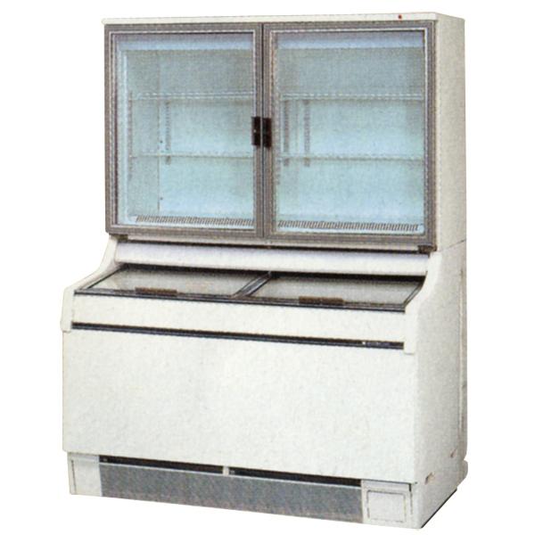 新品:サンデン 冷凍ショーケース(デュアルタイプ) 1200×867×1723 377リットル GSR-D1200ZB