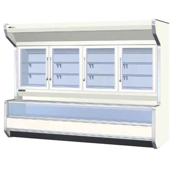 新品:サンデン 冷凍ショーケース(デュアルタイプ) 2520×(940+30)×1960 699リットル GSO-D2553ZC