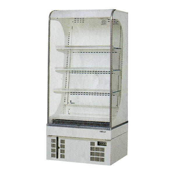 新品 サンデン 冷蔵ショーケースお弁当・サンドイッチ用 オープンタイプ幅650×奥行600×高さ1520(mm) 165リットルRS-650CZ