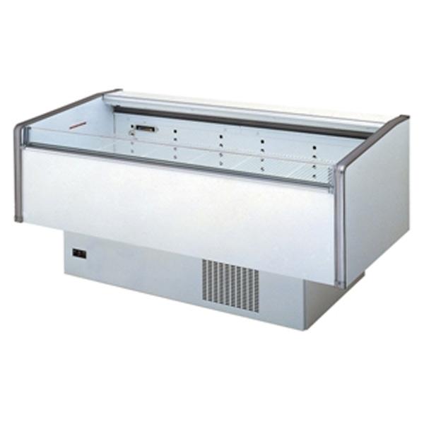 新品 サンデン 片面平型オープンショーケース(冷凍タイプ)1790×900×890 240リットル SMRN-61PJTOR