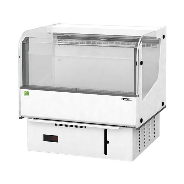 新品 サンデン 催事用冷蔵ショーケース 幅860×奥行700×高さ860(mm)124リットル RSR-T3M