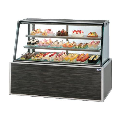 新品:大穂製作所 (OHO) 冷蔵ショーケース 低温高湿タイプ OHGE-ARBb-1500 234リットル
