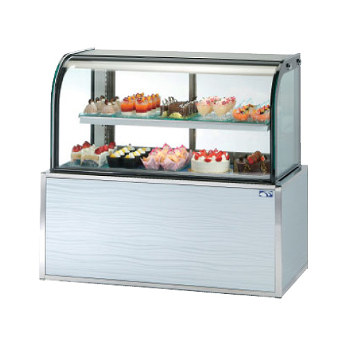 新品:大穂製作所 (OHO) 冷蔵ショーケース 低温高湿タイプ OHGE-CRBb-1500 250リットル