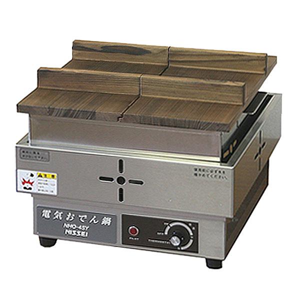 新品 ニッセイ (アンナカ)電気おでん鍋(4ツ切)木蓋付き幅340×奥行335×高さ277(mm)NHO-4SY