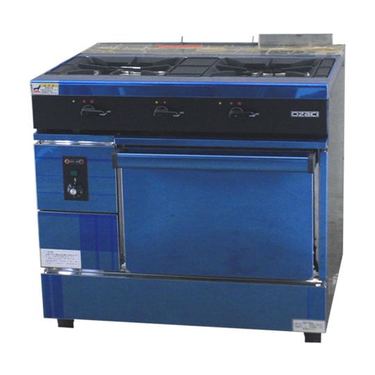 : 奥萨基炉 2 燃烧炉 + 1 烤箱 OZM 900CV 城镇燃气 13A 宽度 900 x d 750 x 高度 (850 毫米)