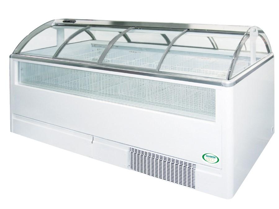 新品: フクシマ ガリレイ ( 福島工業 )オープンショーケース2100幅x900奥x1100高さ(mm) DMC-76FNFTAS