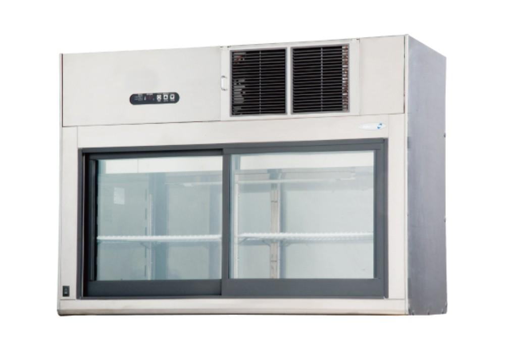 新品:フクシマ ガリレイ ( 福島工業 ) コールドショーケース(両面ガラス扉タイプ)幅 1200×奥行500×高さ835 PST-40GSSR