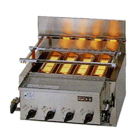 新品:リンナイ ガス赤外線グリラー(焼物器)新荒磯4号 RGA-404C