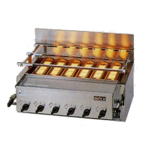 新品:リンナイ ガス赤外線グリラー(焼物器)新荒磯6号 RGA-406C