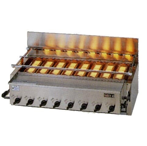 新品 リンナイ ガス赤外線グリラー(焼物器)新荒磯8号 RGA-408C