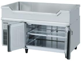 新品:ホシザキテーブル形冷凍冷蔵庫幅1200×奥行600×高さ800mm RW-120SNCG-ML