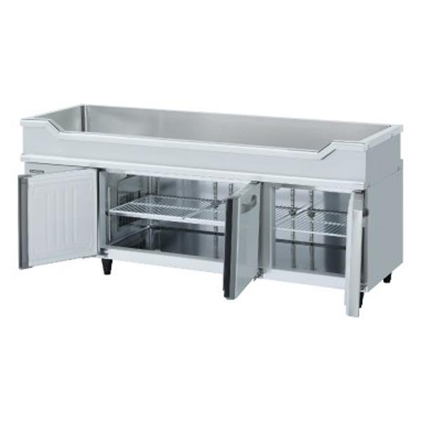 新品:ホシザキテーブル形冷凍冷蔵庫幅1800×奥行600×高さ800mm RW-180SNCG-ML
