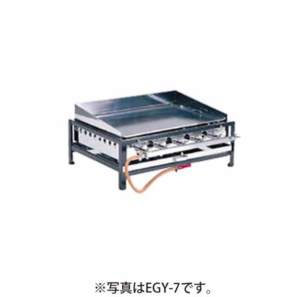 新品 猪狩製作所 卓上ガスグリドル(焼そば・フランクフルト・お好み焼ガス台) EGY-8