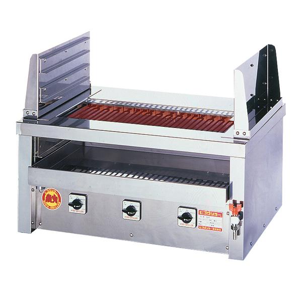 新品:ヒゴグリラー 電気式焼物器(グリラー) 二刀流タイプ卓上型幅810×奥行550×高さ400(mm)3H-212YC