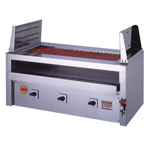 新品 ヒゴグリラー電気式焼物器(グリラー) 二刀流タイプ卓上型幅1020×奥行550×高さ450(mm)3H-218YC