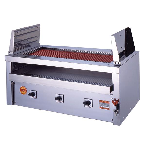 新品 ヒゴグリラー 電気式焼物器(グリラー) 二刀流タイプ卓上型 幅1020×奥行600×高さ450(mm)3H-221YC