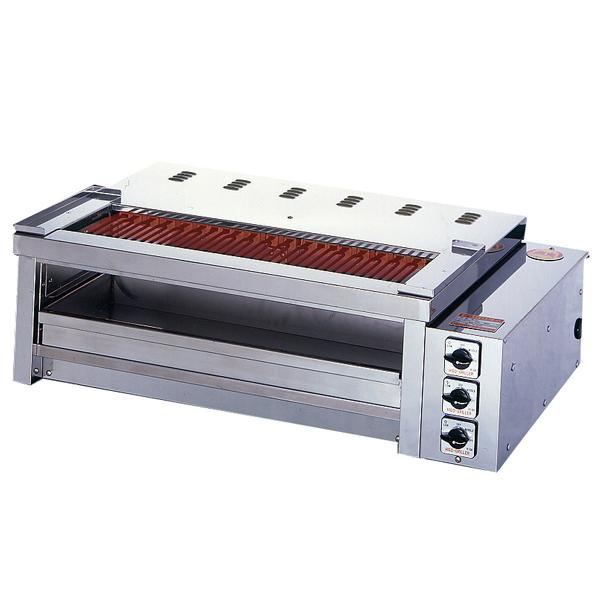 新品 ヒゴグリラー電気式焼物器(グリラー) 二刀流タイプ卓上型幅980×奥行600×高さ300(mm)3H-210YCW