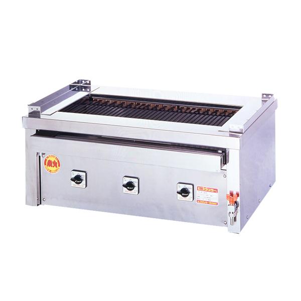 新品 ヒゴグリラー電気式焼物器(グリラー) 万能タイプ卓上型幅890×奥行550×高さ380(mm)3P-215C