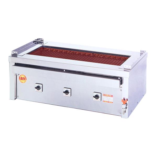 新品 ヒゴグリラー電気式焼物器(グリラー) 万能タイプ卓上型幅1020×奥行550×高さ380(mm)3P-218C