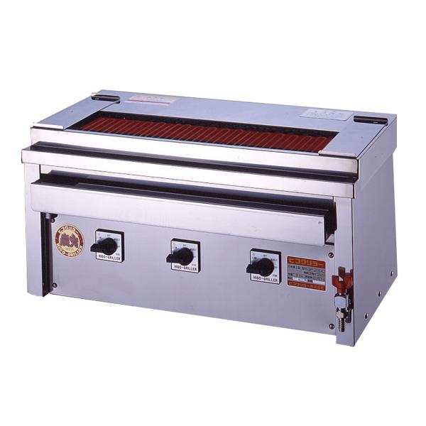 新品 ヒゴグリラー電気式焼鳥焼器(大串) 卓上型幅760×奥行410×高さ390(mm)3P-209XC