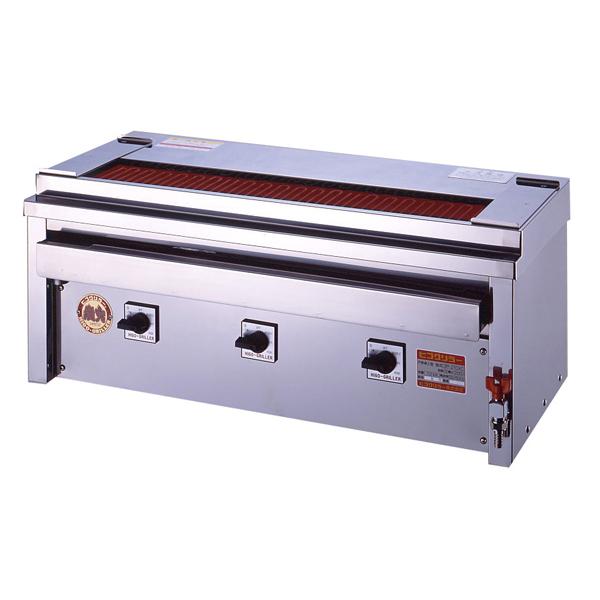 新品:ヒゴグリラー電気式焼鳥焼器(大串) 卓上型幅910×奥行410×高さ390(mm)3P-210XC