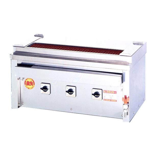 新品:ヒゴグリラー電気式焼鳥焼器 卓上型幅760×奥行410×高さ390(mm)3P-206KC