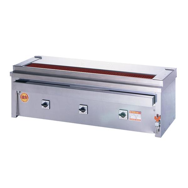 新品 ヒゴグリラー電気式焼鳥焼器 卓上型幅1160×奥行410×高さ390(mm)3P-210KC