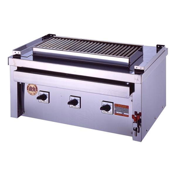 新品 ヒゴグリラー電気式焼物器(グリラー) ステーキグリラー幅720×奥行550×高さ350(mm)3P-210CS