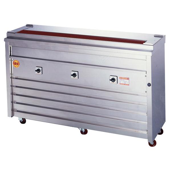 新品 ヒゴグリラー電気式焼鳥焼器 床置型幅1360×奥行410×高さ850(mm)3P-212K