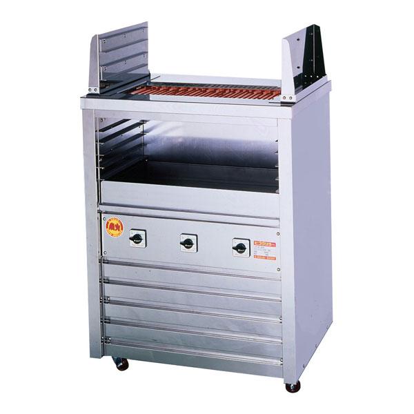 新品 ヒゴグリラー 電気式焼物器(グリラー) 二刀流タイプ床置型幅720×奥行550×高さ1000(mm) 3H-210