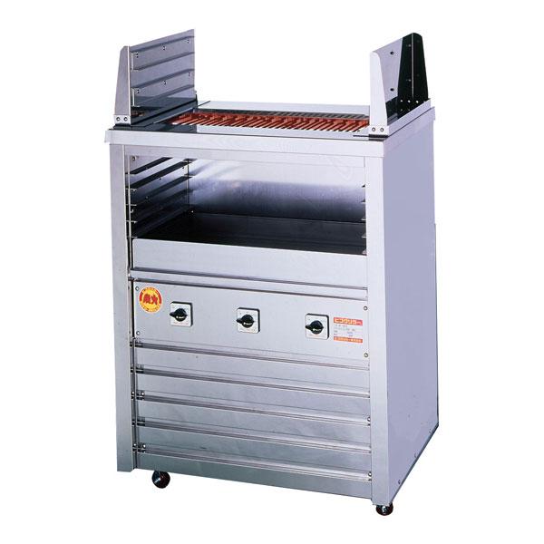 新品 ヒゴグリラー電気式焼物器(グリラー) 二刀流タイプ床置型幅810×奥行550×高さ1000(mm) 3H-212