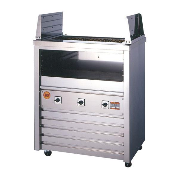 新品:ヒゴグリラー 電気式焼物器(グリラー) 二刀流タイプ床置型幅890×奥行550×高さ1000(mm) 3H-215