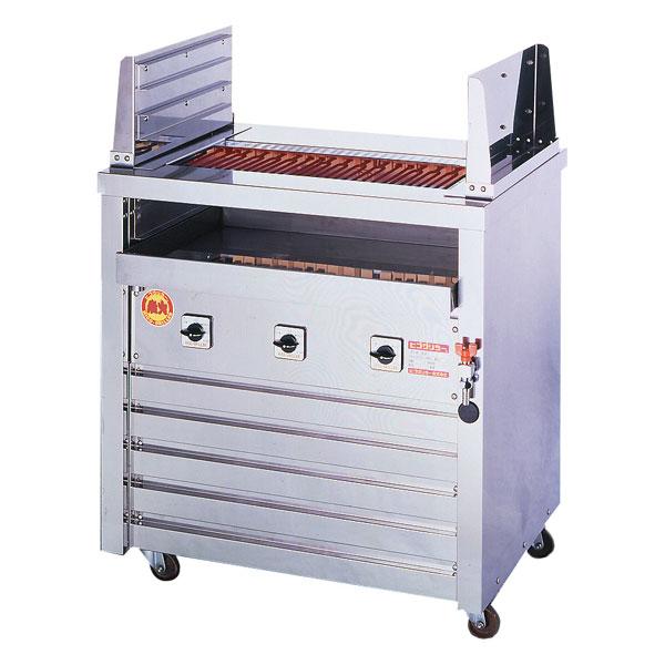 新品 ヒゴグリラー電気式焼物器(グリラー) 二刀流タイプ床置型幅810×奥行550×高さ850(mm)3H-212Y
