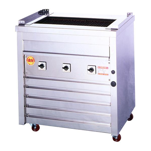 新品 ヒゴグリラー電気式焼物器(グリラー) 万能タイプ床置型幅810×奥行550×高さ850(mm)3P-212