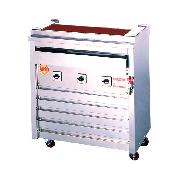 新品 ヒゴグリラー電気式焼鳥焼器(大串) 床置型幅760×奥行410×高さ850(mm)3P-209X