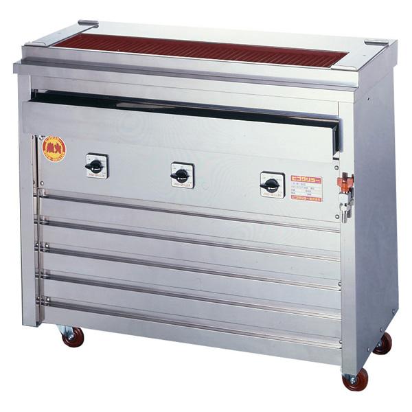 新品 ヒゴグリラー電気式焼鳥焼器(大串) 床置型幅960×奥行410×高さ850(mm)3P-212X